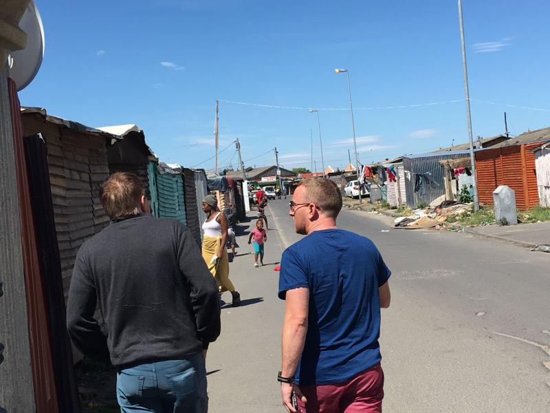 Langa - to see how South Africans live